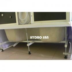 WSH-7716W 120x85 Biała kabina hydromasażowa