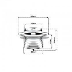 SXL02A white Brodzik kwadratowy 80x80 syfon 15cm głęboki wysoki