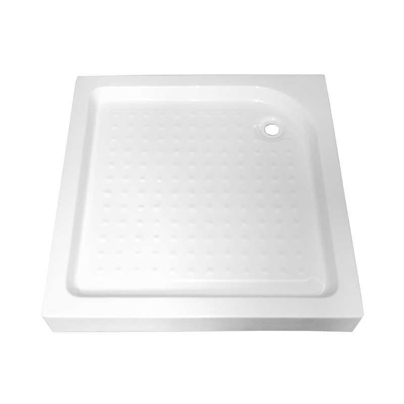 SXL05A white Brodzik kwadratowy 70x70 syfon 15cm głęboki wysoki