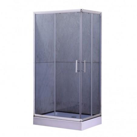 JUNA Y9003 Kabina prysznicowa z brodzikiem