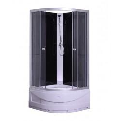 Kabina prysznicowa półokrągła z brodzikiem SAVANA Y9603 TESA A