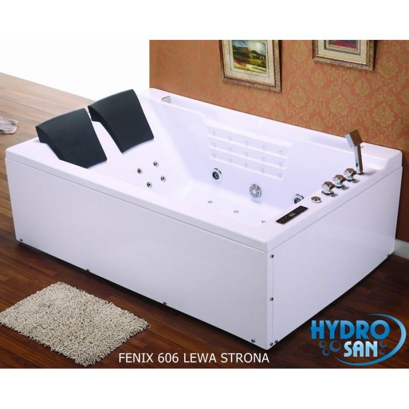 Wanna z hydromasażem + podgrzewacz wody Fenix 606