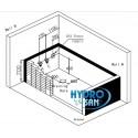 Wanna z hydromasażem + podgrzewacz wody New Kalambo 914