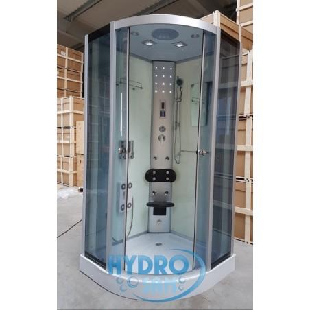 Kabina prysznicowa WSH-7118 100x100 biała