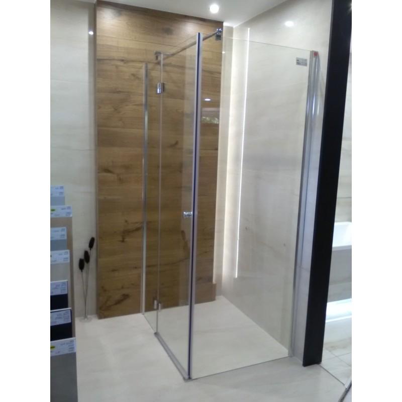 Kabina FRESH LINE 80x100x195 chrom szkło transparentne Lewa*