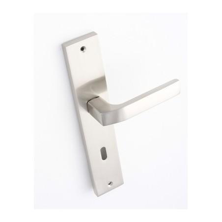 Klamka BINGO na długim szyldzie pod klucz