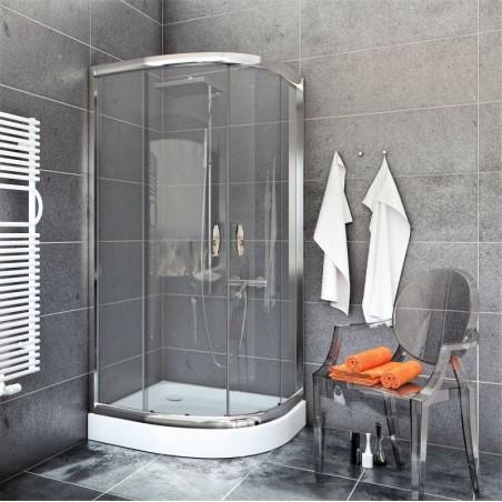 Kabina Prysznicowa STYLIO  BK501T+ z brodzikiem