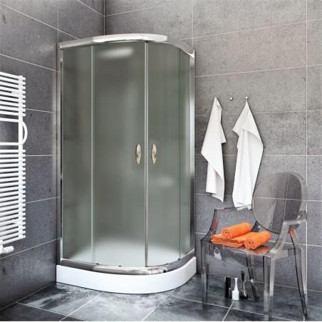 Kabina Prysznicowa  STYLIO BK501C+ z brodzikiem