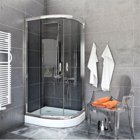 Kabina Prysznicowa STYLIO BK501G+ z brodzikiem ALEX 80