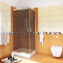 Kabina Prysznicowa STYLIO BK501QG+ z brodzikiem OSKAR