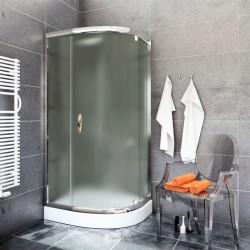 Kabina Prysznicowa STYLIO 90x90 BK502RC+ z brodzikiem ALEX