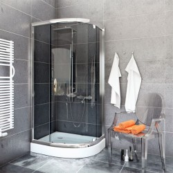 Kabina Prysznicowa  STYLIO  BK502RG+ z brodzikiem ALEX
