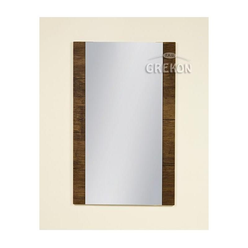 Lustro łazienkowe antyczne drewno 50x80cm FOKUS