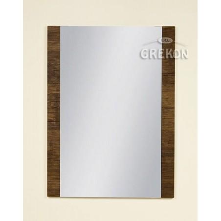 Lustro łazienkowe antyczne drewno 60x80cm FOKUS