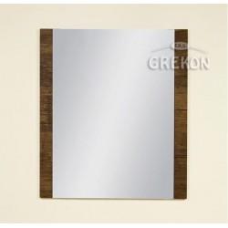 Lustro łazienkowe antyczne drewno 70x80cm FOKUS