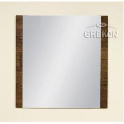 Lustro łazienkowe antyczne drewno 80x80cm FOKUS