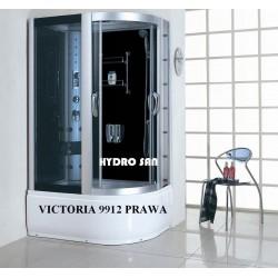 Kabina prysznicowa z HYDROMASAŻEM Victoria 9912 Lewa