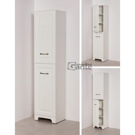 Regał łazienkowy biały 47x153cm FINEA
