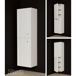 Regał łazienkowy biały 45x155cm COBRA