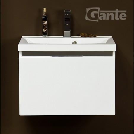 Szafka łazienkowa biała 60cm DIAMOND z umywalką