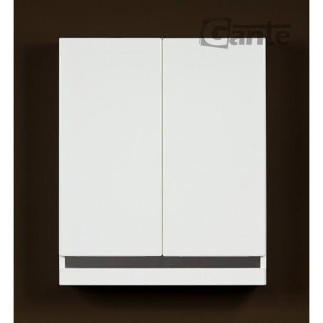 Szafka łazienkowa wisząca biała 60x72cm DIAMOND