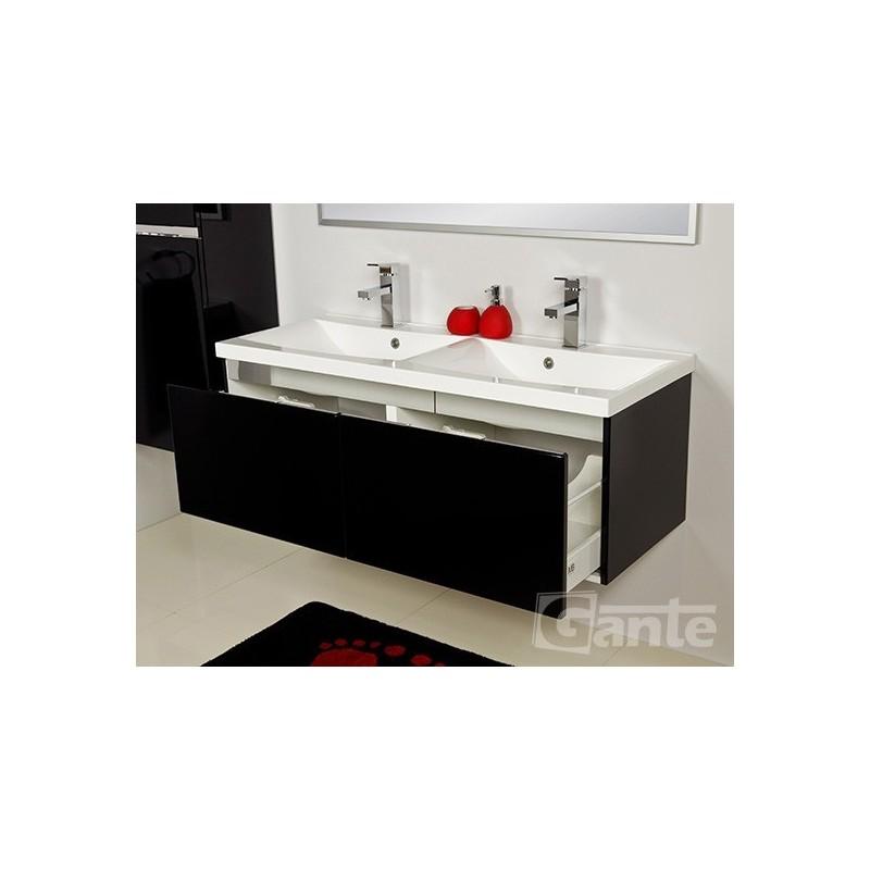 Regał łazienkowy biały 40x143,5cm DIAMOND