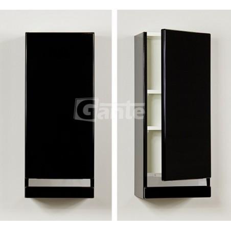 Szafka łazienkowa wisząca czarna 30x72cm DIAMOND