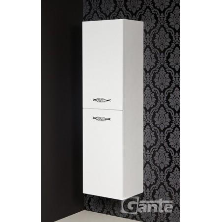 Regał łazienkowy biały 40x143,5cm ROYAL