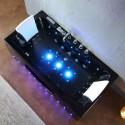 IRIS 933A Black 160×84 Wanna z hydromasażem