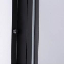BS16A Kabina prysznicowa Black Prostokątna 100x90