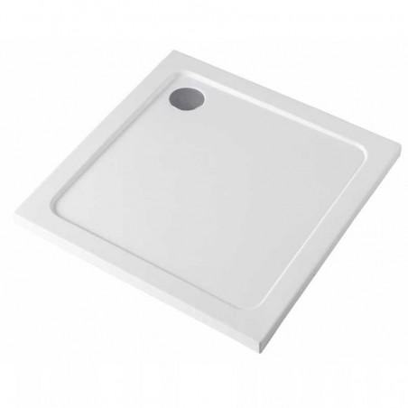 ST02B 90x90 Brodzik kwadratowy SLIM Biały